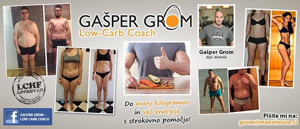 Gašper Grom Low Carb Coach