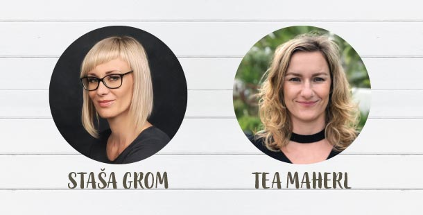 Intervju: Staša Grom in Tea Maherl